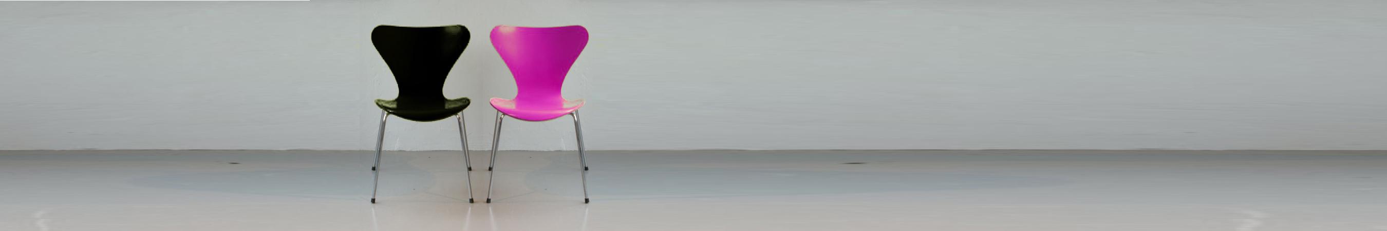 Stühle pink